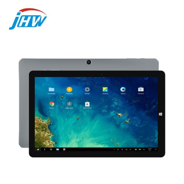 CHUWI Hi10 Pro metal unibody Tablet PC 10.1 inch Windows 10 + Android 5.1 Intel Z8350 Quad Core 4GB RAM 64GB ROM Dual Cameras PC