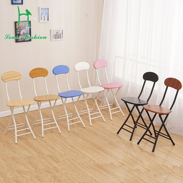 Folding Stool Minimalist Home Portable Computer Chair