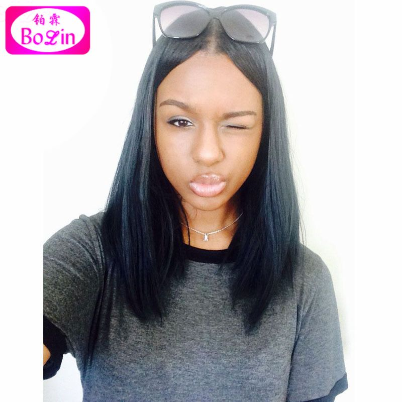Lace Front Human Hair Wigs Brazilian Full Lace Wigs Short Bob Wigs for Black Women Straight Lace Wigs Virgin Hair