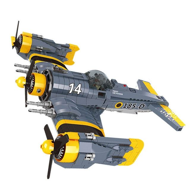 Lepin 22021 Technical Series The Beautiful Science Fiction Fighting Aircraft Set Building Blocks Bricks Toys Model