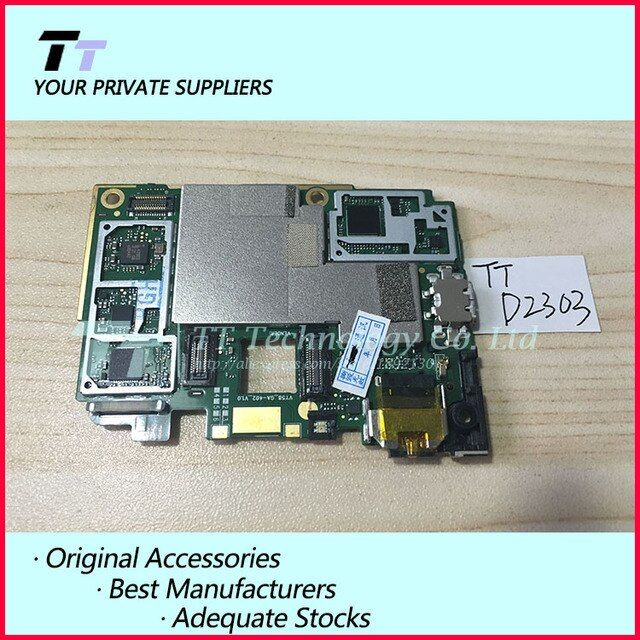 Original Unlocked Working For Xperia M2 S50H D2303 Mainboard Motherboard Logic Board With Chips free shipping
