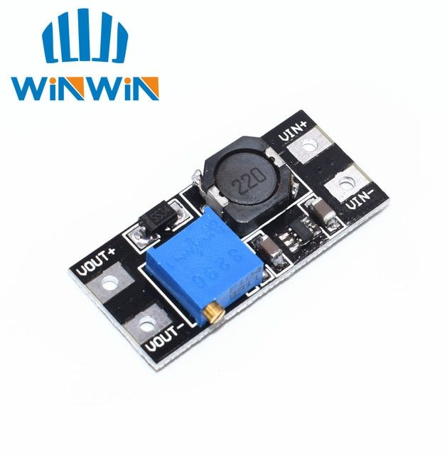 A53 1pcs MT3608 2A Max DC-DC Step Up Power Module Booster Power Module