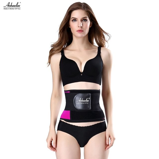 Aohaolee Hot Shapers Latex Waist Trainer Corset Body Shaper Xtreme Power Belts Waist Cincher Modeling Strap Waist Slimming Belts