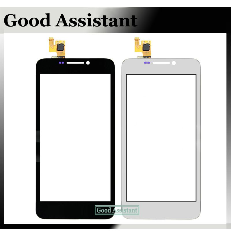 Black/White For Huawei Ascend G630 G630-U10 Touch Screen Digitizer Glass Panel No LCD Replacement Part Free Shipping