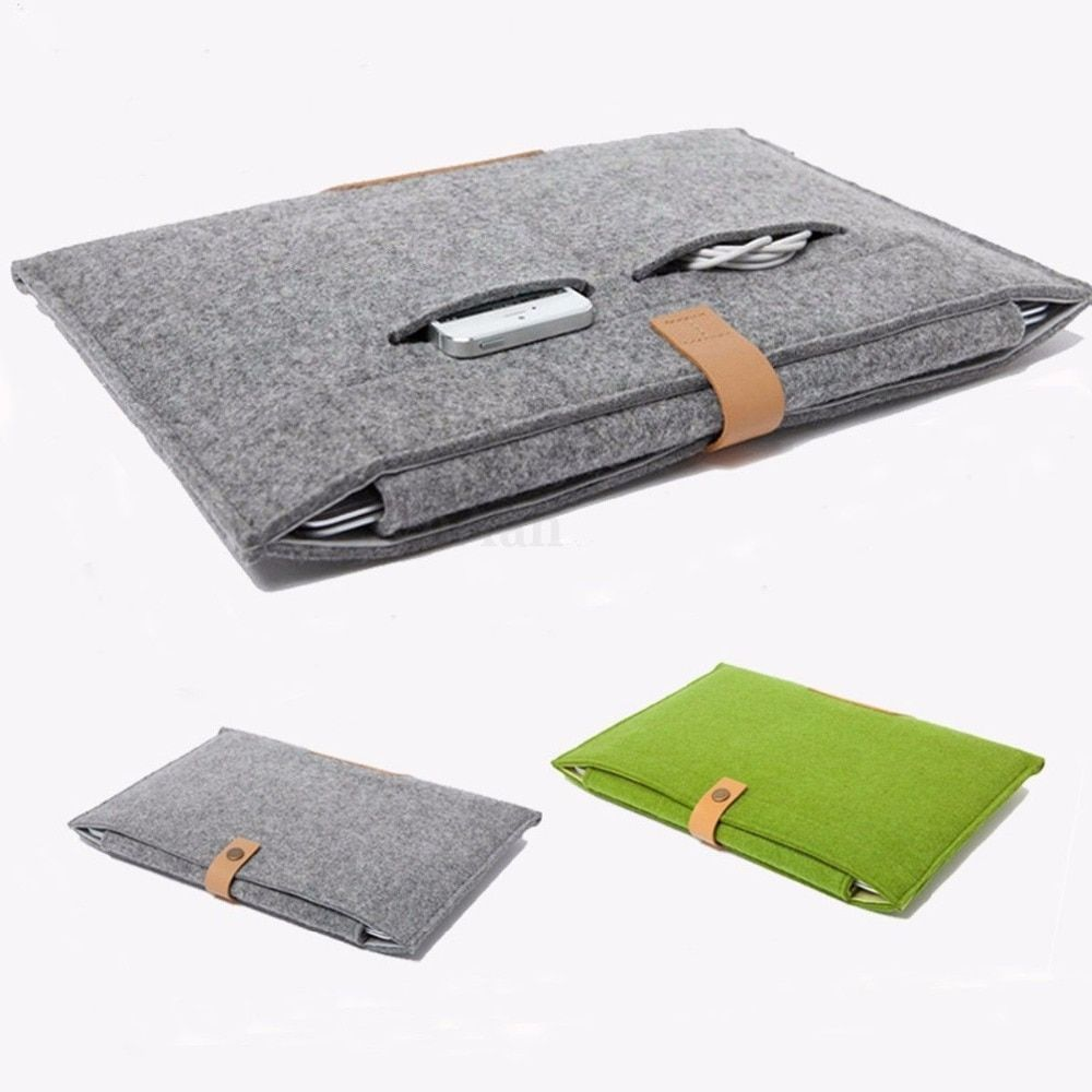 "Felt Sleeve Laptop Case Cover Bag for Apple MacBook Air Pro Retina 11"" 12"" 13"" 15"""