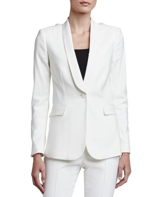 Hot Rushed Women Evening Pant Suits Charming Women Tuxedos Shawl Lapel Suits For One Button Business Two Piece Suit Rf2120