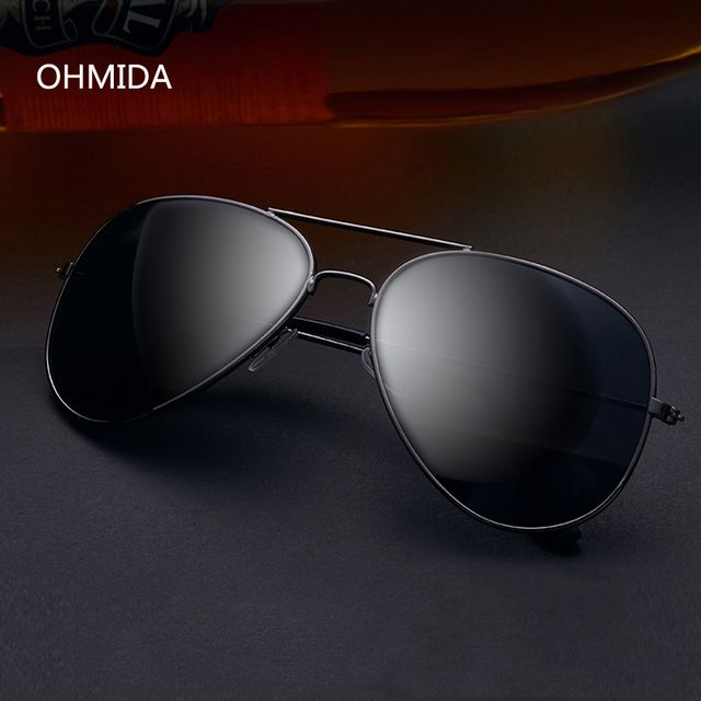 OHMIDA New Fashion Luxury Brands Sunglasses Women Men Designer Pilot Sun Glasses For Female Avaitor Oculos De Sol Gafas UV400