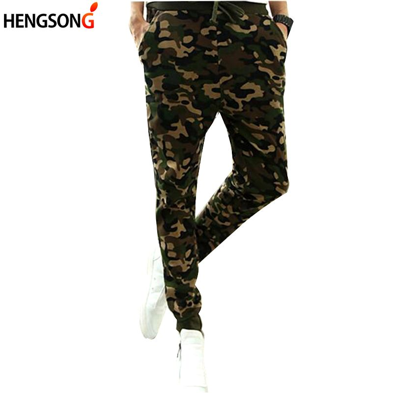 New Arrival casual Camo pants mens Pencil Pants 2017 Fashion Slim Fit Camouflage Pants Men male long trousers XXL  DP853402