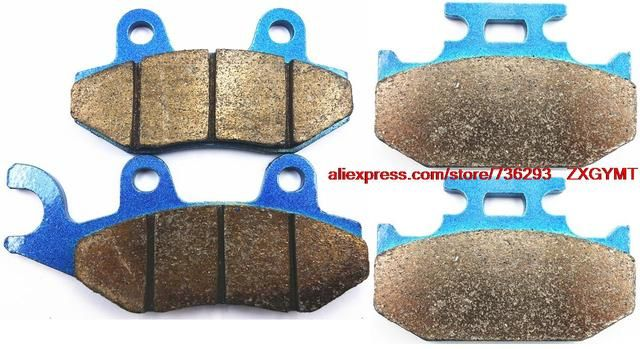 Sintering Off-road Brake Pad Set fit SUZUKI RM125 RM 125 M , N , P , R , S 1991 - 1995