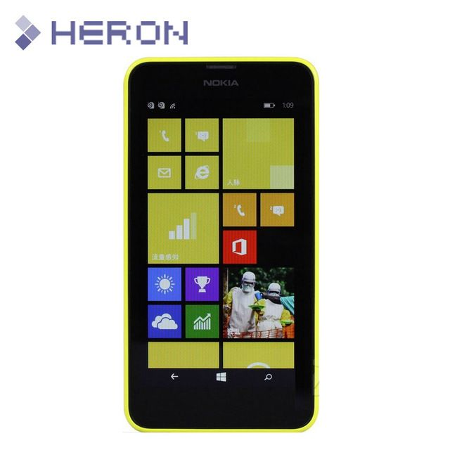 0.3mm Tempered Glass for Nokia Lumia 630 9H Hard 2.5D Arc Edge Ultra Thin Screen Protector with clean tools