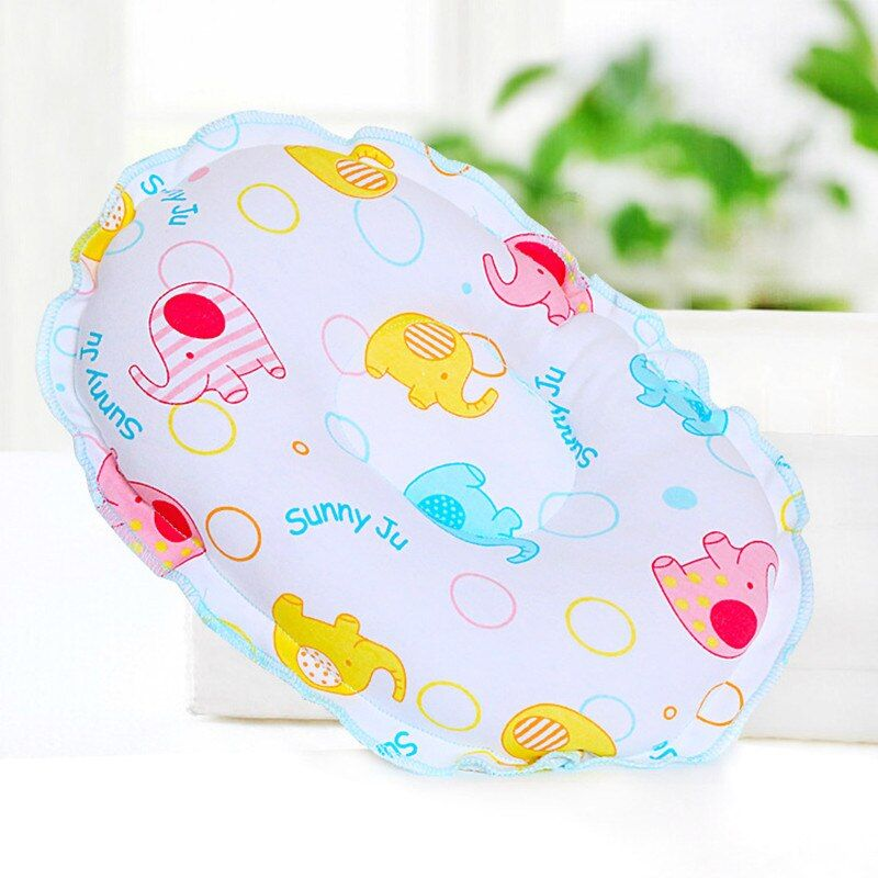 Cotton Concave Prevent Flat Head Baby Pillow Infant Toddler Sleeping Headrest 1pcs Newborn boys girls Soft support Neck Pillows