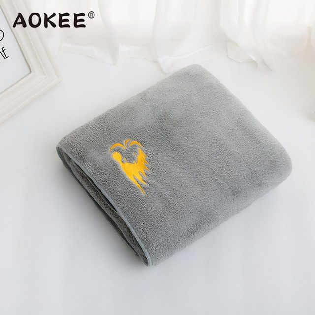 2016 New Arrivals Luxury Men Bath Towel Microfiber Super Soft Towel AOKEE Brand Home Terry Towel linge de toilette Free Shipping
