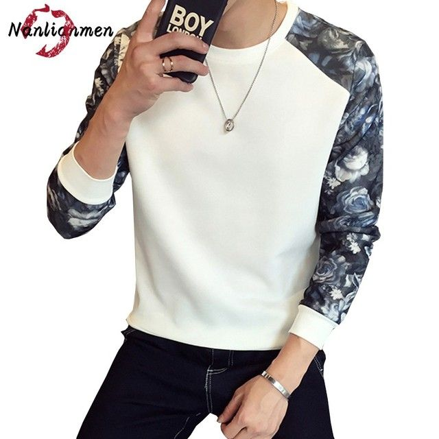 2017 Full O-neck Real Floral Casual Sweatshirt Men Sudaderas Hombre Poleron Mens Sweatshirts Male Sweat Homme Moleton Masculine
