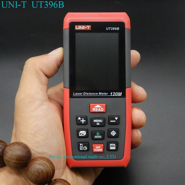 Laser Distance Meter UNI-T UT396B 120M Laser Digital range finder  Measure Area/volume With Camera auxiliary/USB online function