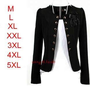 2014 Fashion Woman Blazer Plus size women's outerwear Lady casual slim short blazer coats jackets Black,Yellow,Pink,White,Orange