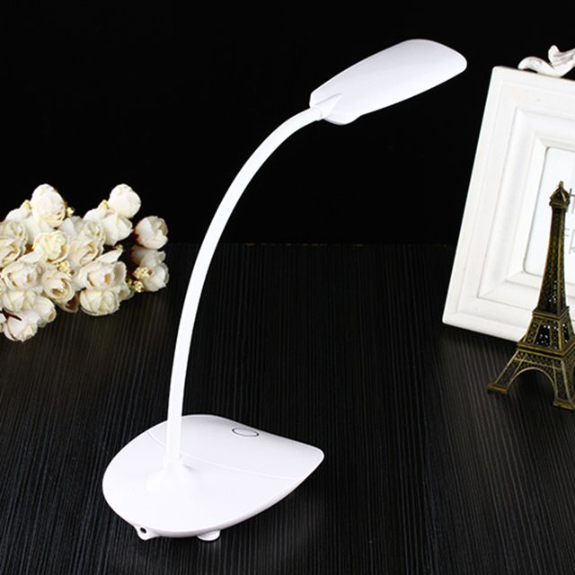 3-level brightness switching dimmer  USB Touch Switch LED Flexible Desk Table Lamp  led reading lamp touch dimmer lamp