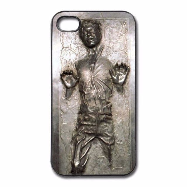 Star Wars Han Solo Frozen in Carbonite Cool Print Hard Phone Cases for iphone SE 4 4S 5 5S 5C 6 6S Plus 7 7Plus 8 8Plus X