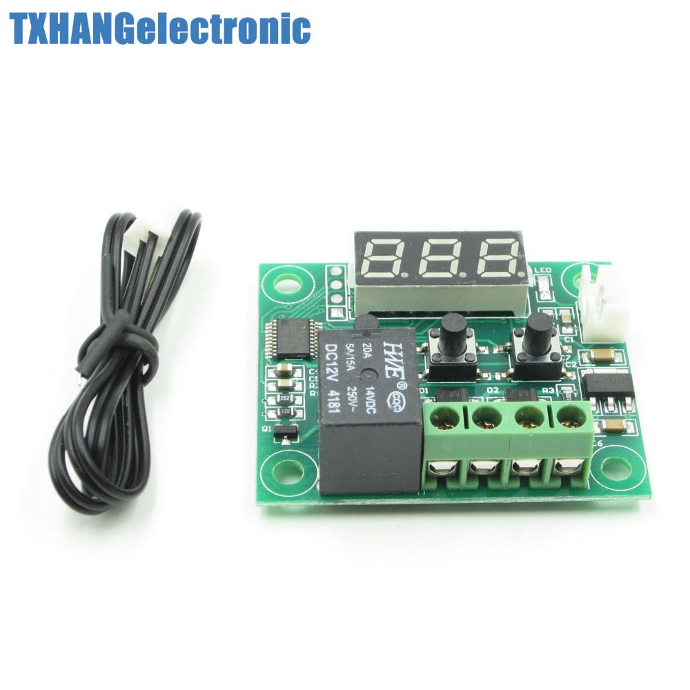 W1209 Digital thermostat Temperature Control Switch 12V sensor Module