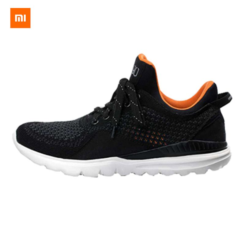 2018 Original Xiaomi / Freetie Smart Bluetooth 4.0 English APP Comfortable Upper And Durable Sole Running Sneakers Shoes Grey