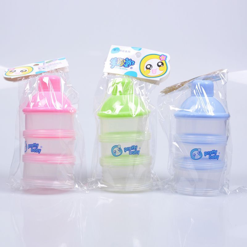 Infant Milk Rice Snack Bottle Storage Box Silica Feeding Bottle Food Supplement