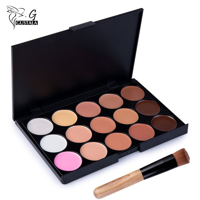 Professional Concealer Palette 15 Color Concealer Facial Face Cream Care Camouflage Makeup base Palettes Cosmetic