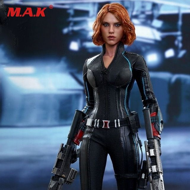MMS288 1/6 Black Widow 4.0 Action Figure Captain America Avengers Age of Ultron  HT Collection Figure Models