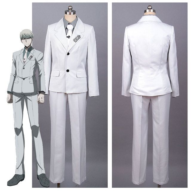 Danganronpa 3 Kyosuke/Kyousuke Munakata Cosplay Costume Future Foundation Badge