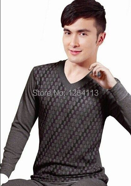 M002 2015 hot free shipping men cotton brand classic nightwear sleep lounge winter home clothes winter pijamas sexy casual M-XXL