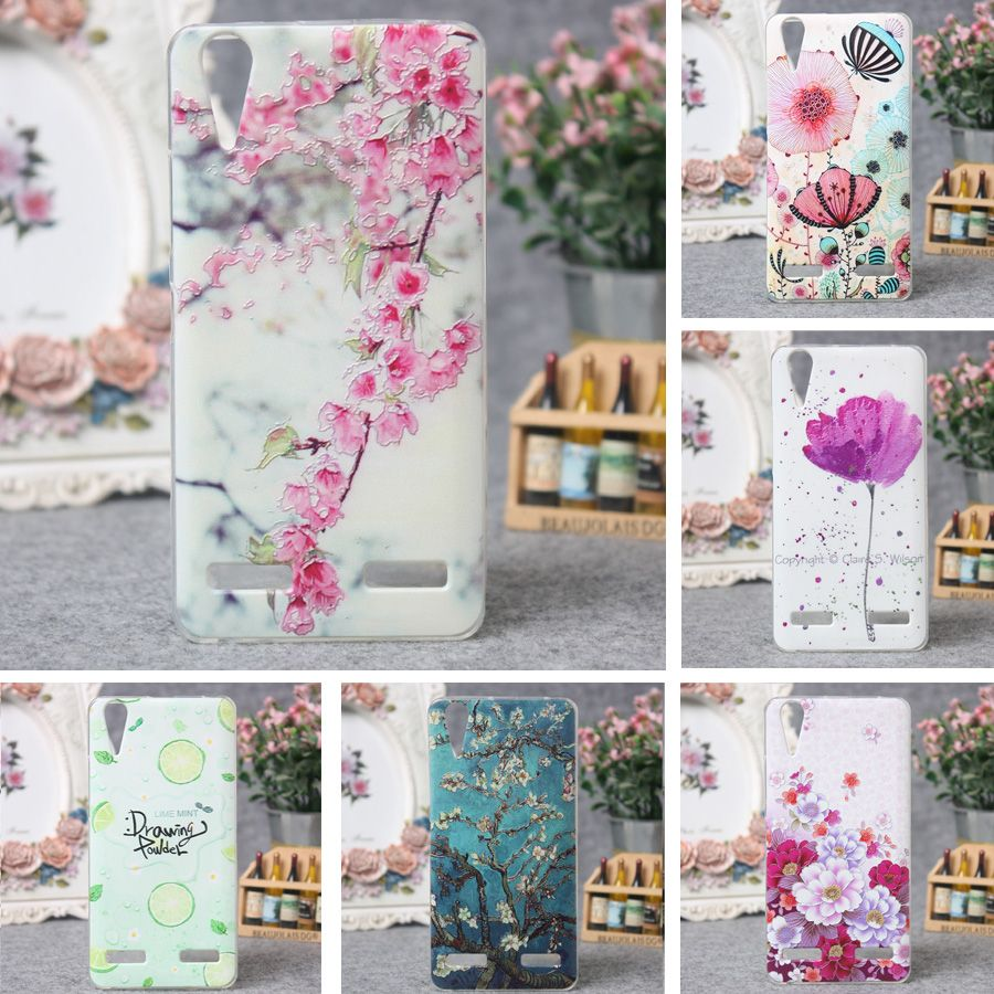 Luxury Soft TPU Case for Lenovo A6000 K3 Lemon K30-T Case Cover 3D Painting Silicone Back Cover for Lenovo A6000 A 6000 K3 Case