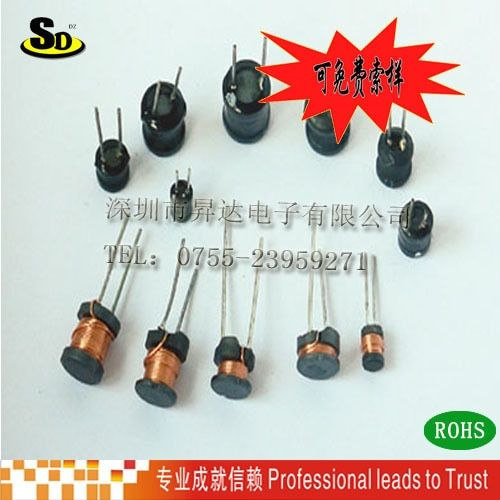 10pcs/Power Inductors 10*16MM 100UH 220UH 330UH 470UH 1MH 2MH 2.2MH 3.3MH 4.7MH 10MH inductance