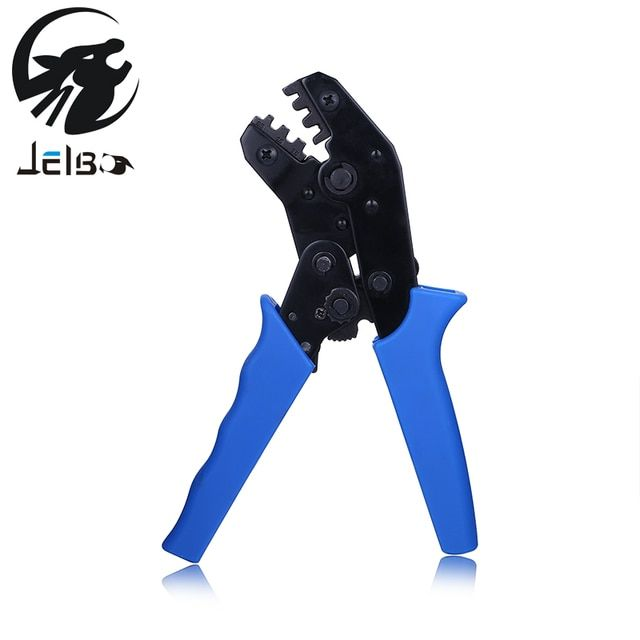 Jelbo Terminal Crimping Plier Crimping Tool Pliers Hand Tools Cold Pressing Terminal Insulation Crimping Pliers