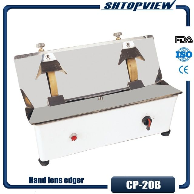 CP-20B Edging Plastic Case Dual Wheel Best Price In China Hand Lens Edger