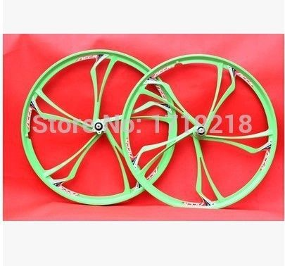 Brand Bicycle Wheels Disc Brake MTB Road Bike Wheel Magnesium Alloy Bicycle Wheel For One Pair
