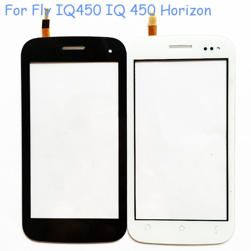 5.0''Phone Touch Screen Sensor For Fly IQ450 IQ 450 Touchscreen Front Panel Glass Touch Screen Digitizer Sensor Replacement