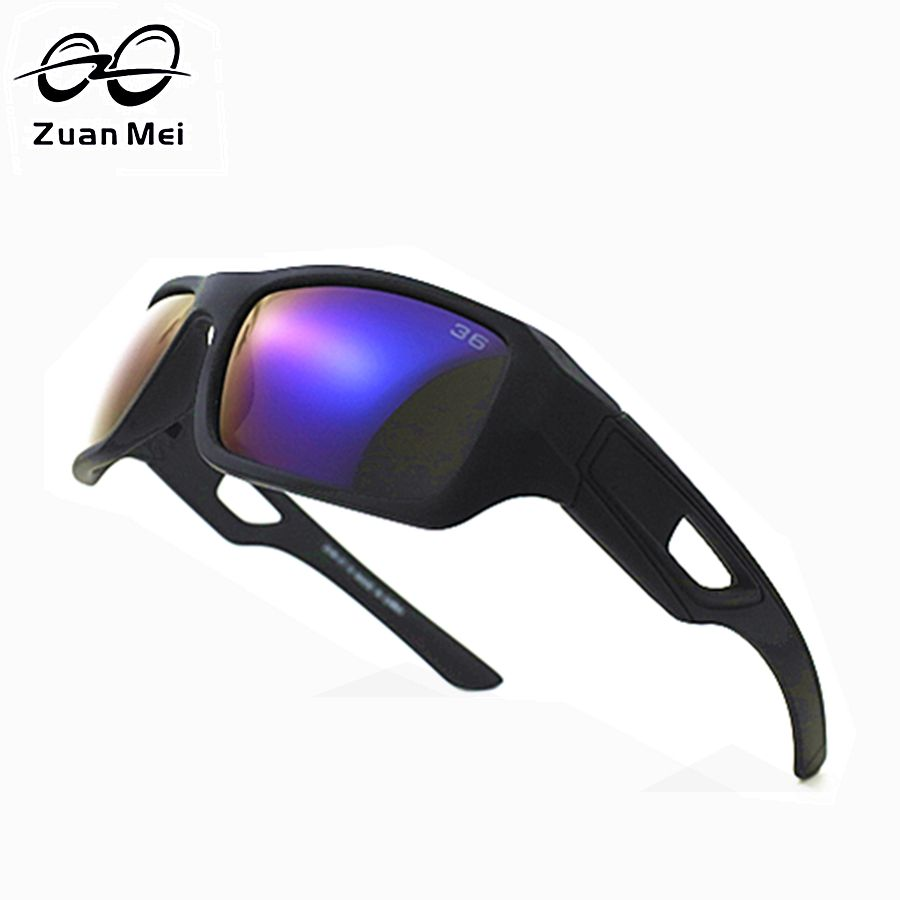 Zuan Mei Brand Sun Glasses For Men 2017 Hot Sale Polarized Sunglasses Men Driving Night Vision Polarized Glasses Women Big-Frame