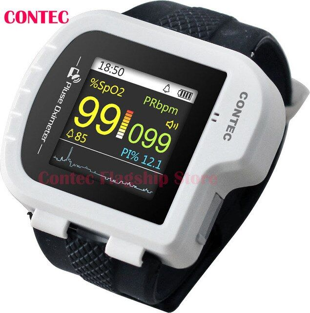 CONTEC,CMS50I Pulse Oximeter ,Health,White color,CMS50I Wrist Pulse Oximeter, perfect for long-term PR & O2 Saturation Monitorin