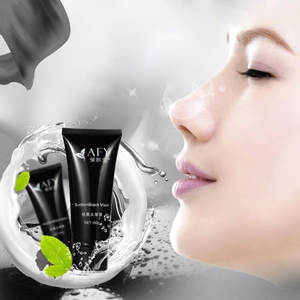 Strong effect suction Black-head mask deep cleansing facial face mask Blackhead Acne remover black mud masks Beauty makeup care