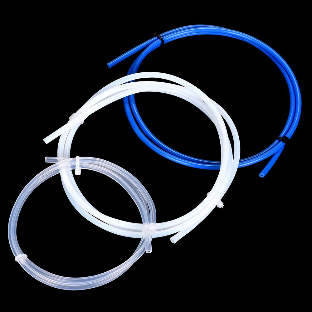 PTFE Tube Teflon Tube PiPe For J-head Hotend RepRap Rostock Bowden Extruder Throat 3D V5 V6 1.75mm 3mm Filament 3D Printer Parts