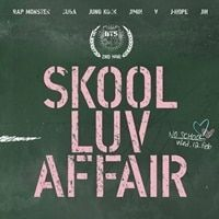 BTS 2ND MINI ALBUM BOOKLET INCLUDED SKOOL LUV AFFAIR KPOP