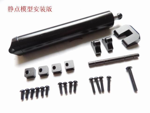 1/14 scale truck parts Multi-stage hydraulic cylinder For Tamiya 1:14 Tractor Truck RC Trailer SCANIA RC8WD