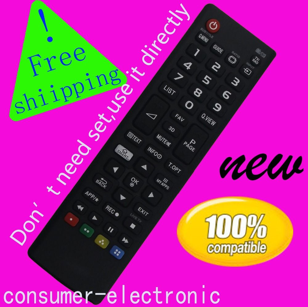 for LG 3D LED TV Remote Control for LG TV 32LN575S 32LN570R 39LN575S 42LN570S 42LN575S for TV control remoto