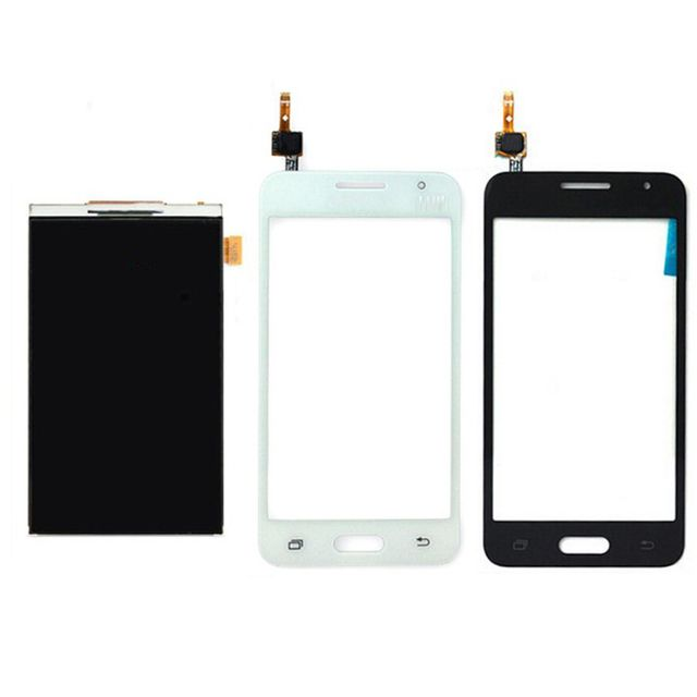 High Quality Working LCD Display +Touch Screen Digitizer For Samsung Galaxy Core 2 SM-G355H G355 SmartPhone Repair Parts