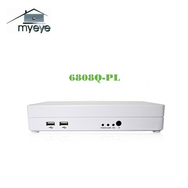Myeye 1080P 4CH 8CH Mini NVR HDMI  D1 P2P Cloud H.264 Network Video Recorder NVR6808Q-PL CCTV Video Surveillance Home Security