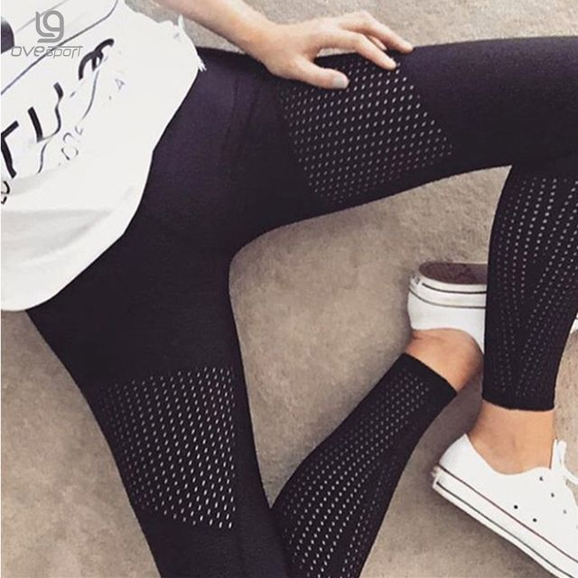 2017 New Fashion Push Up Fitness Leggings For Women Pants Workout Leggins Push Up Black Fashion Leggings Middle Waist Sexy Dry
