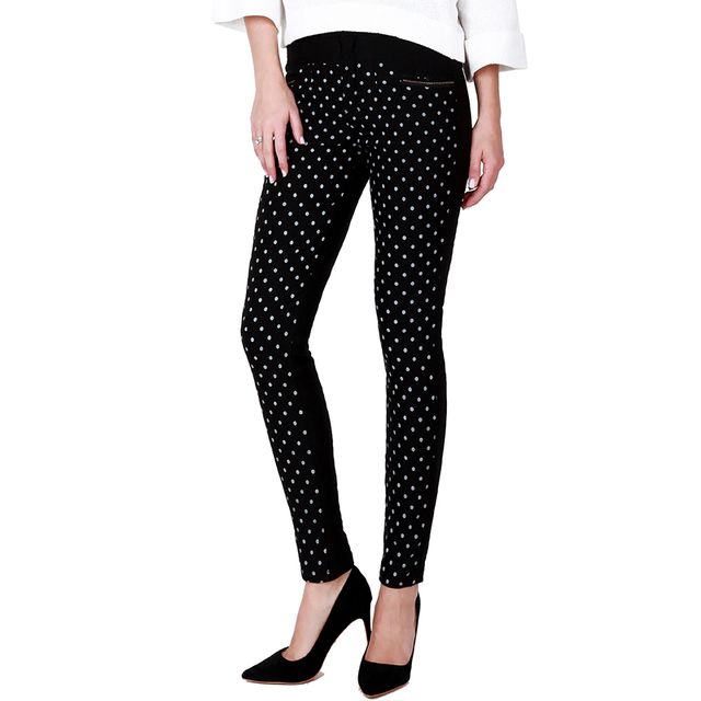 Women Winter Duck Down Pants Warm Trousers For Women Female Plus Size Dot Stretch Pant Slim Thick Pencil Ladies Down Pants Y335
