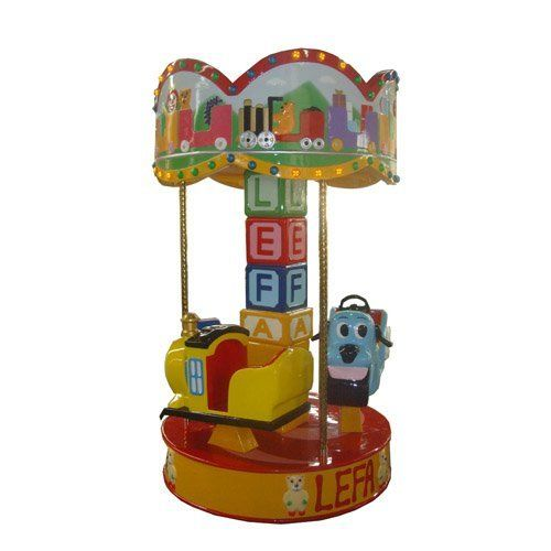 3 seats *electric*  Merry-go-round, Carousel