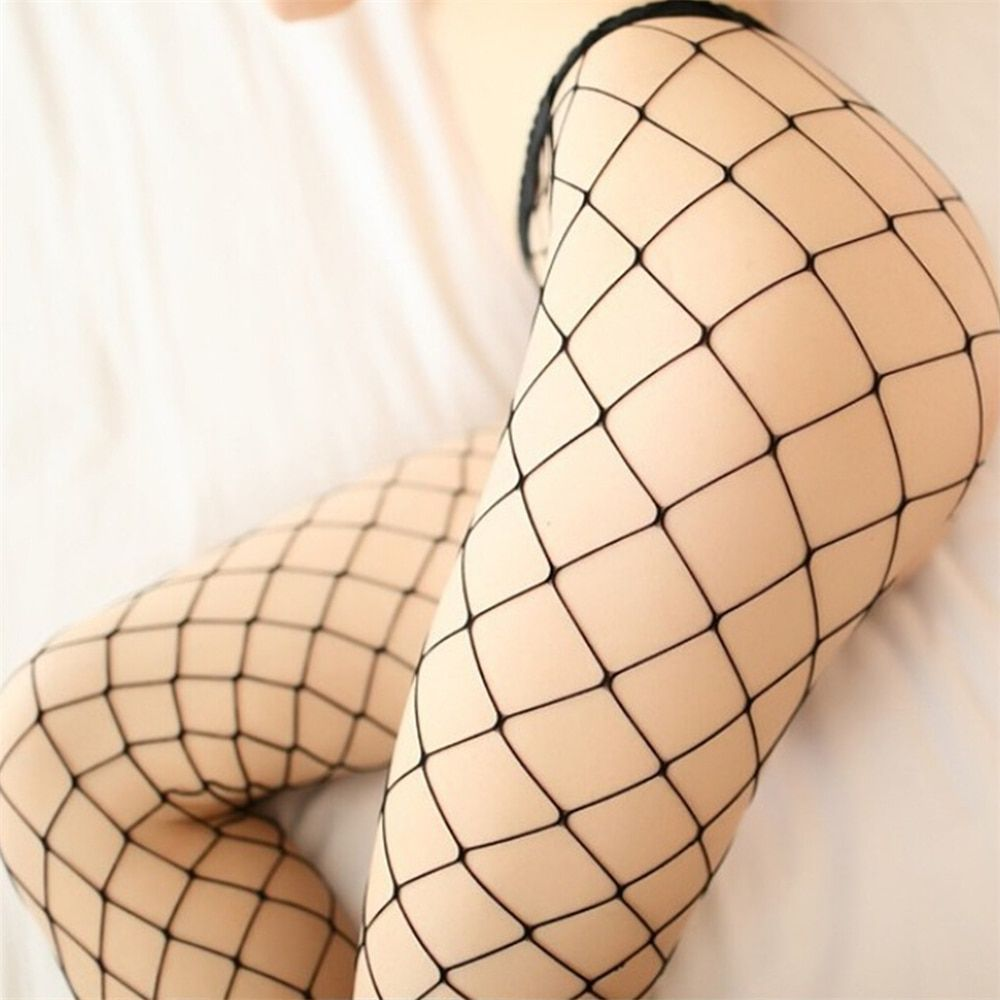 New Sexy Woman teddy lingerie with open crotch Mesh Fishnet Bodystocking Lingerie tights collant femme kawaii sexy stockings