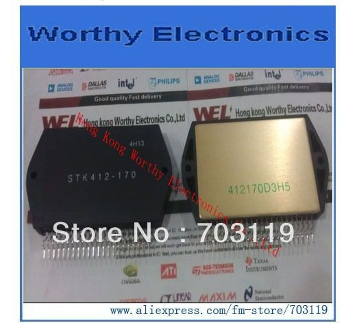 2PCS/LOT    STK412-170        STK412       ZIP