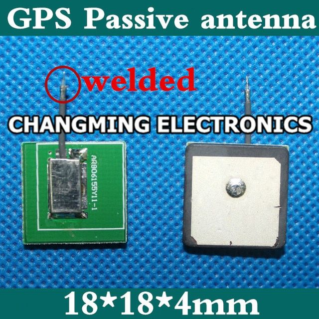GPS Passive antenna 18*18*4mm Ceramic 18*18*2mm Big dipper GPS antenna(working 100% Free Shipping)2PCS
