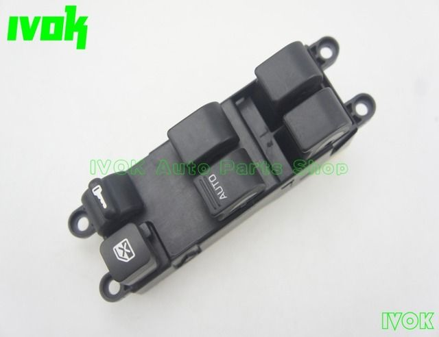 Power Window Main Switch Front Left For Nissan Sunny B14 Navara Pick-up D22 25401-2M120